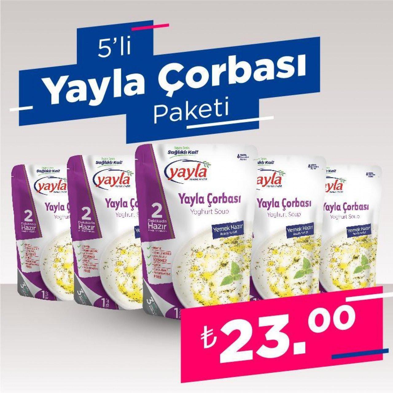 5'Li Yayla Çorbası Paketi