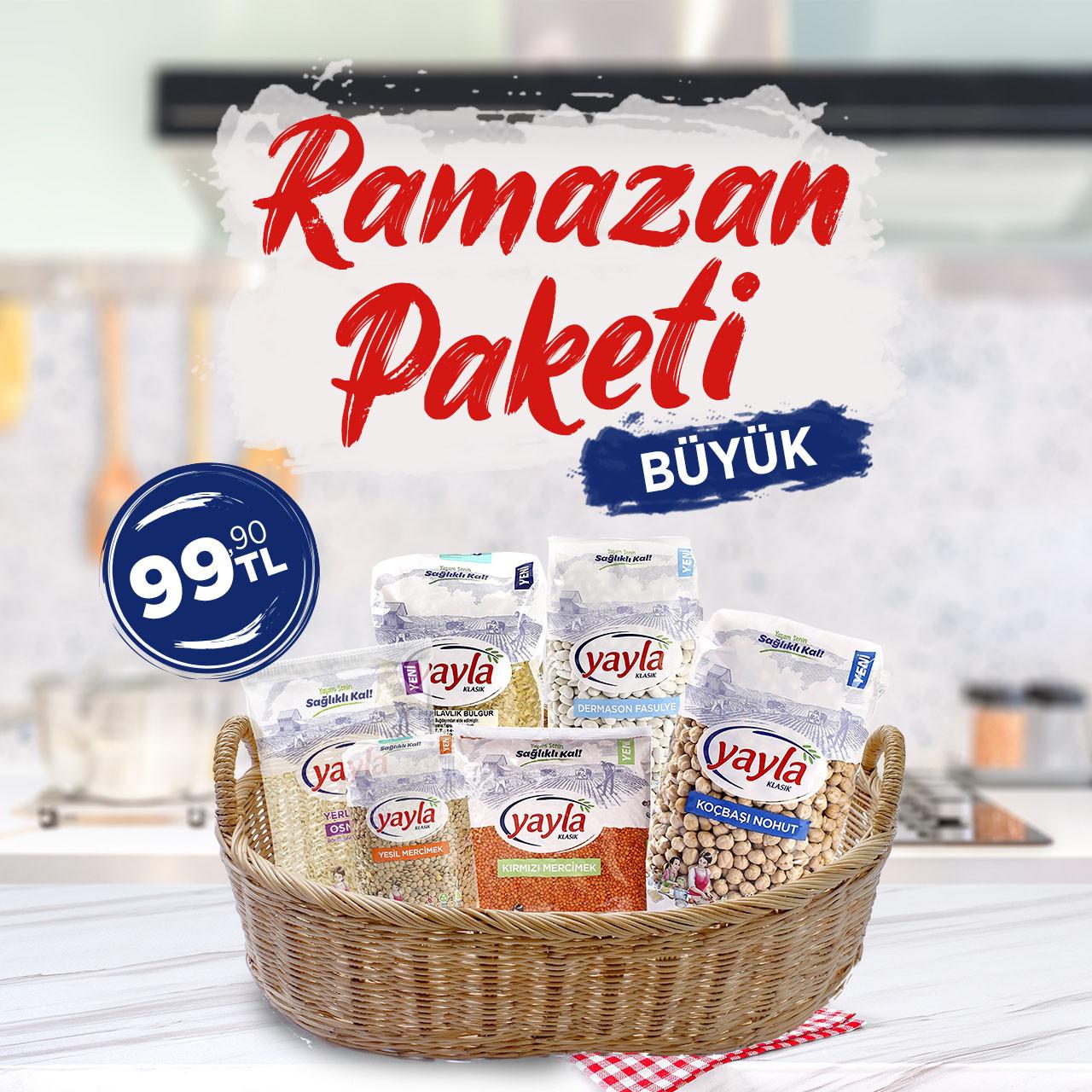 Ramazan Paketi - Büyük