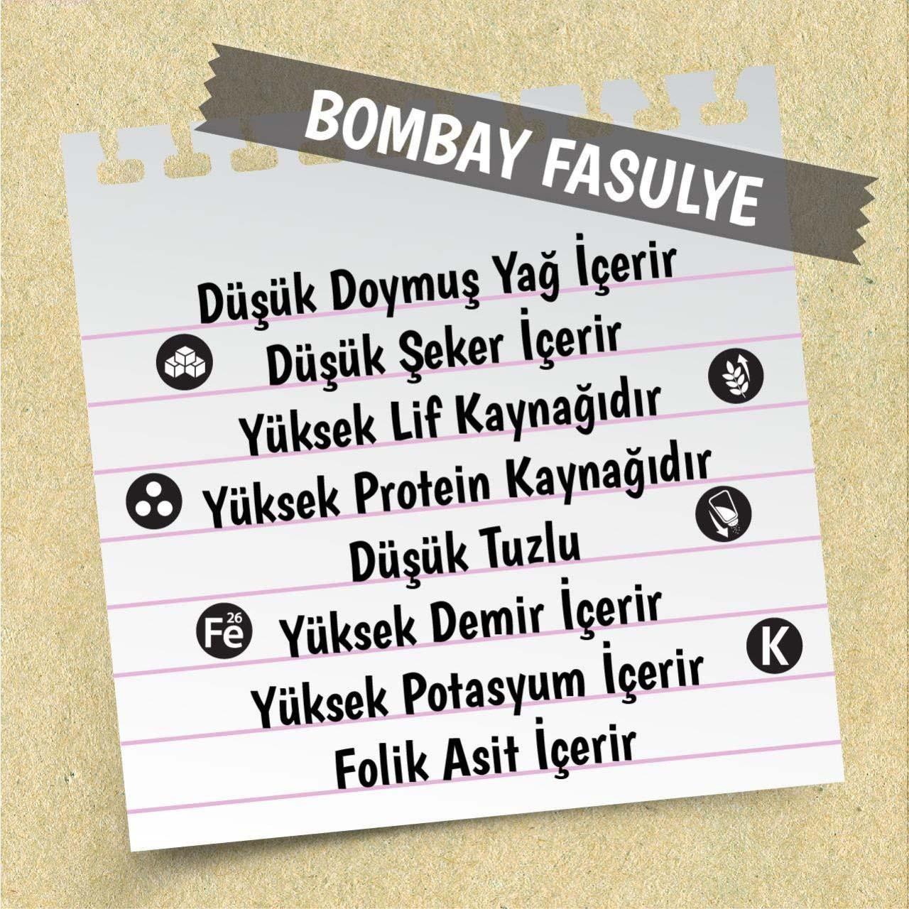 Yayla Bombay Fasulye 1 Kg