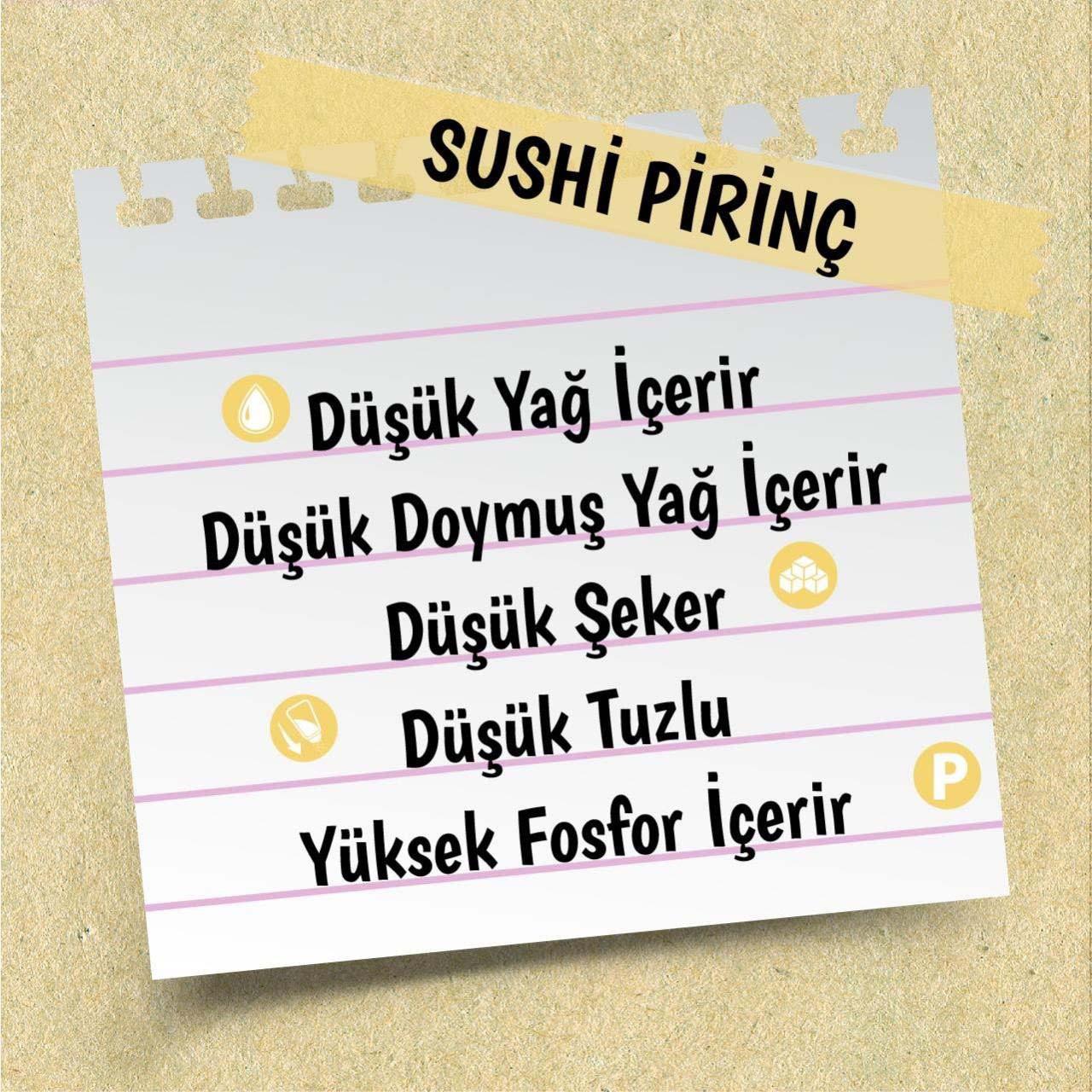 Yayla Gurme Sushi Pirinç 500 Gr
